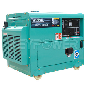 Small Electric Generator 5kw Portable Diesel Generator AC 3 Phase