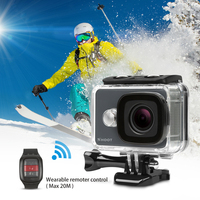 Mini 2017 New Model 4K Action Camera T31 with 2.4G Remote Controller
