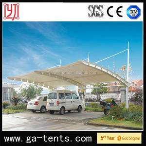 steel plastic carport