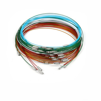 Stainless Steel Wire Necklace Cord Jewelry Findings For Diy Jewelry on