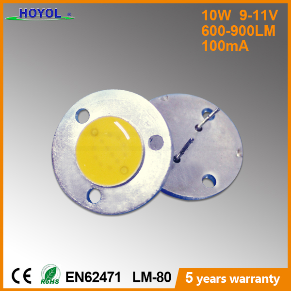 Epistar chip 3.2-3.6v 10W-100w Circular cob led