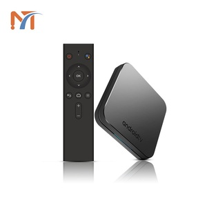 New Design KM9 ATV 4GB RAM 32GB ROM tv box support Android 8.1 S905X2 with 2.4G/5G wifi H.265 4K HD smart set top box