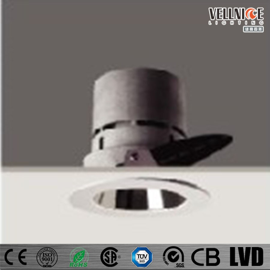 Wall Washer Anti-glare Recessed Downlight Qt12 / Halogen Down ...