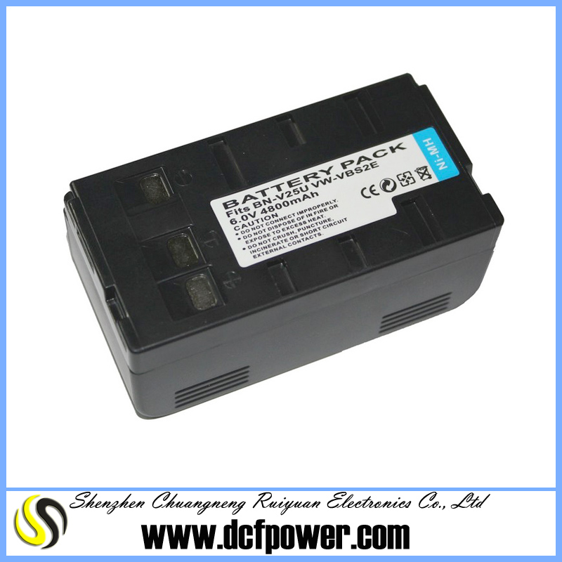 4800mAh battery BN-V25U For JVC 46E 68E 66E Battery Charger VW-VBS2E