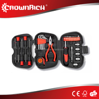 CROWNRICH 31pc Home Repair Tool Set DIY Household Kit