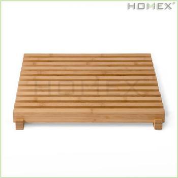 Eco Style Bambou Antiderapant De Plancher De Salle De Bains Et Spa Tapis De Bain Baignoire Tapis Tapis De Bain Homex Bsci Buy Tapis De Bain Tapis De