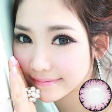 14.5mm big size black edge beautiful color contact lens soft lens