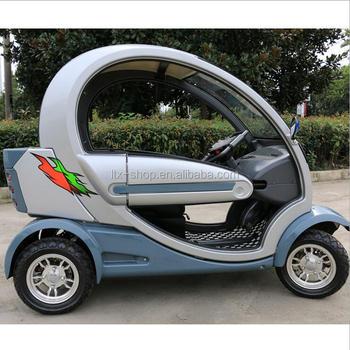 Nieuwste Micro Mini Elektrische Auto Vier Wielen Volledig Gesloten