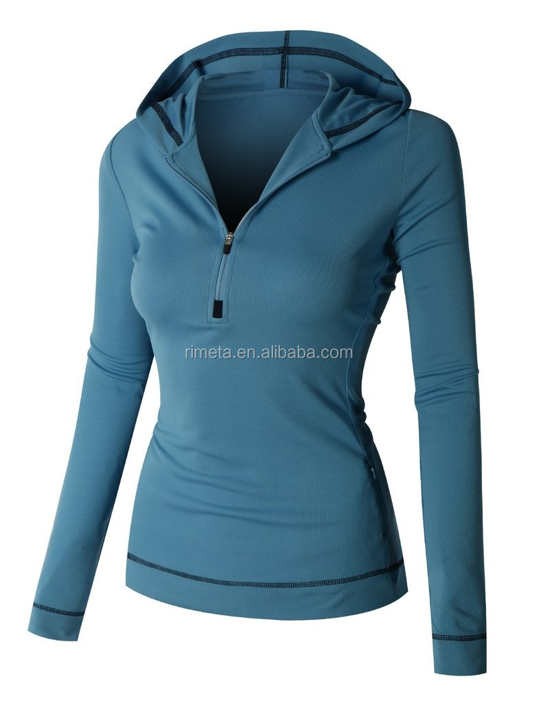 Fitness & yoga women jackets sports hoody casure workout apparel gym running clothing