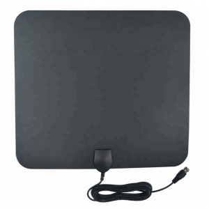 Wholesale New Design Paintable Indoor Flat Portable TV Antenna