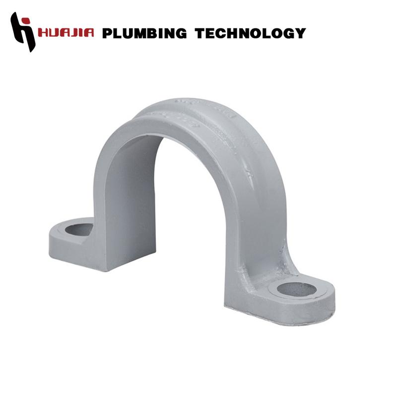 PVC Plastic Row Clamp Water Pipe U-Clip Fastener Holder Fittings 20 25 32mm