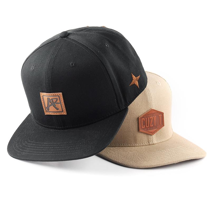 Personalizzato logo del marchio nome della società cappelli, berretti da baseball del cotone