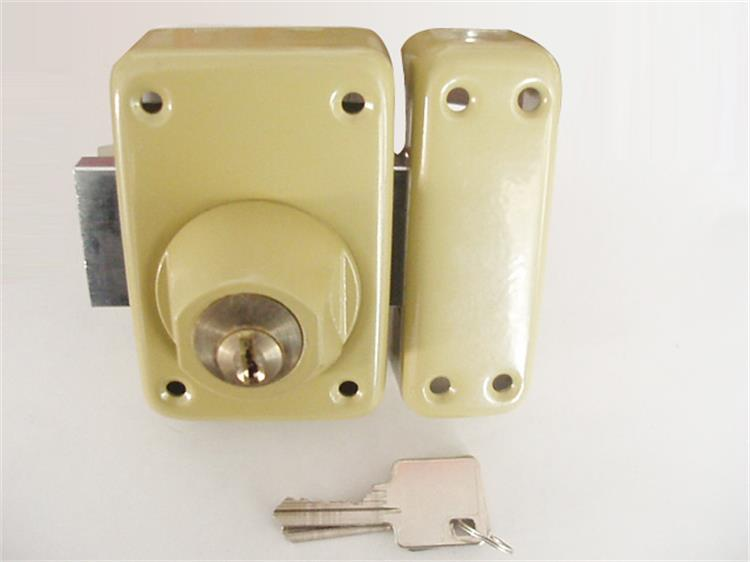 Pins Round Square Brass Forend Magnetic Night Latch Deadbolt Backset ...