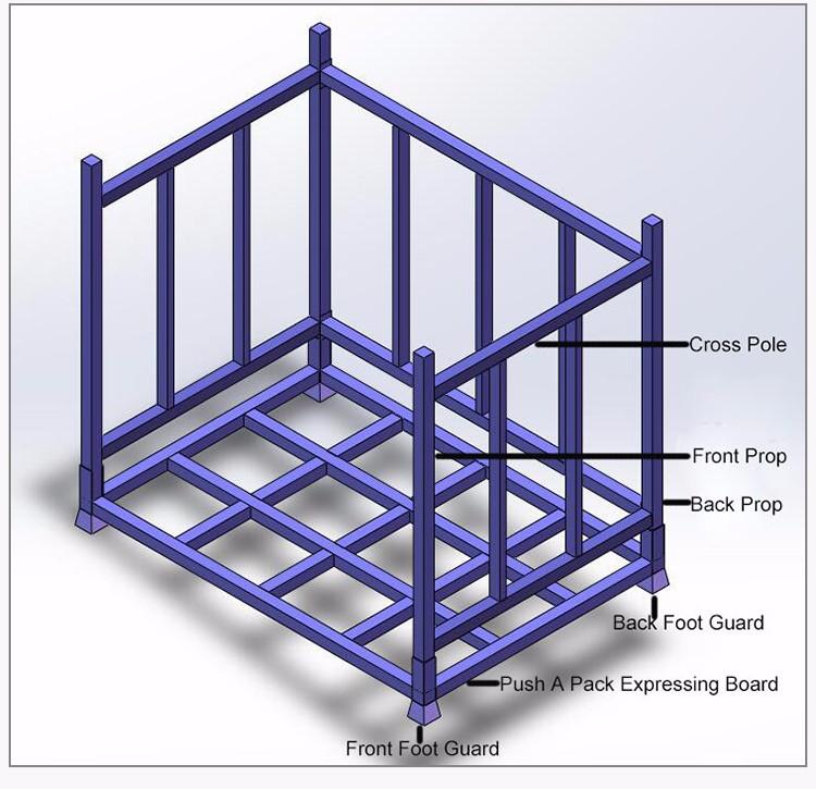 Accurate Steel Rack Hs Code Nestainer Rack