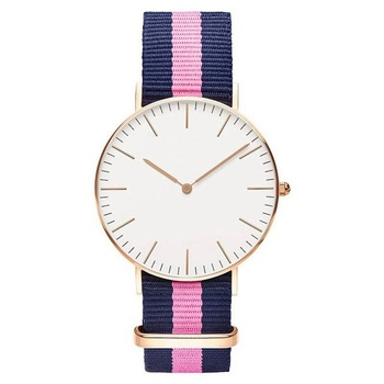 2018 reloj mujer couple watches Wholesale Nylon Belt Mens Watch Men's Slim Woman Student Watch Richports