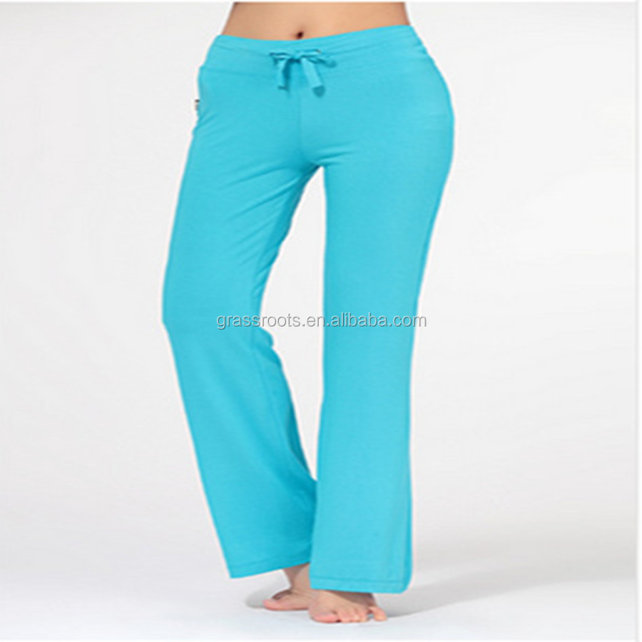 China white yoga pants factory polyester spandex running pants wholesale polyester spandex yoga pants