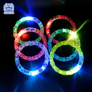 Hot Sale Novelty Product LED Lighting Wristband LED Bracelet For Promotional Gifs Events Party Concert etc at Night