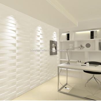 Motif En Relief Décoratif Intérieur Mdf 3d Texture De Mur Panneaux En Relief Pour La Décoration ...