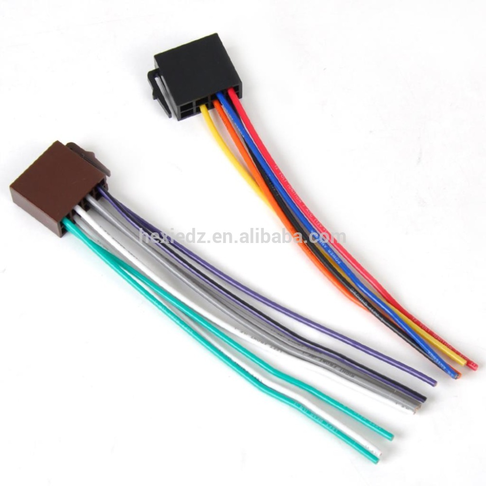 Auto car electrical iso connector automotive wire car wiring harness, car wiring harness suppliers and manufacturers universal radio wiring harness at aneh.co