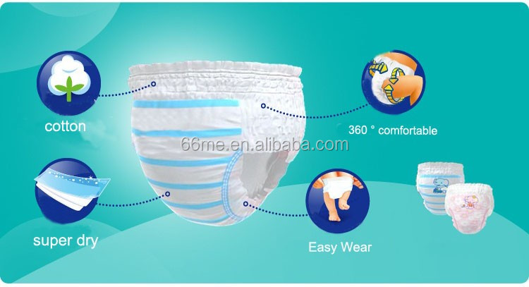 new design comfortable disposable baby diaper pant