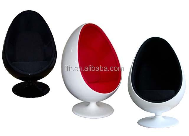 living room muebles fibra de vidrio de la bola del ojo fibra de vidrio silla