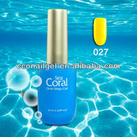 Sea Coral Cute Skull Nail Polish