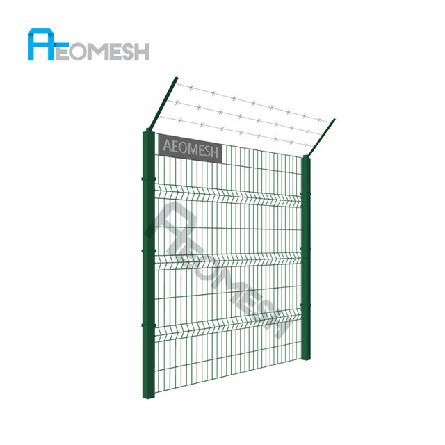 China Welded Wire Mesh Fence Price Wholesale 🇨🇳 - Alibaba