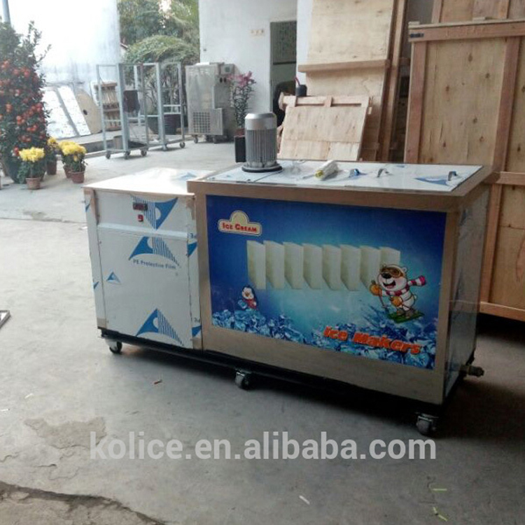 China manufacturer high quality popular ice block bricks maker