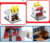 118 pcs building block set	kids fries shop diy miniature house with good price