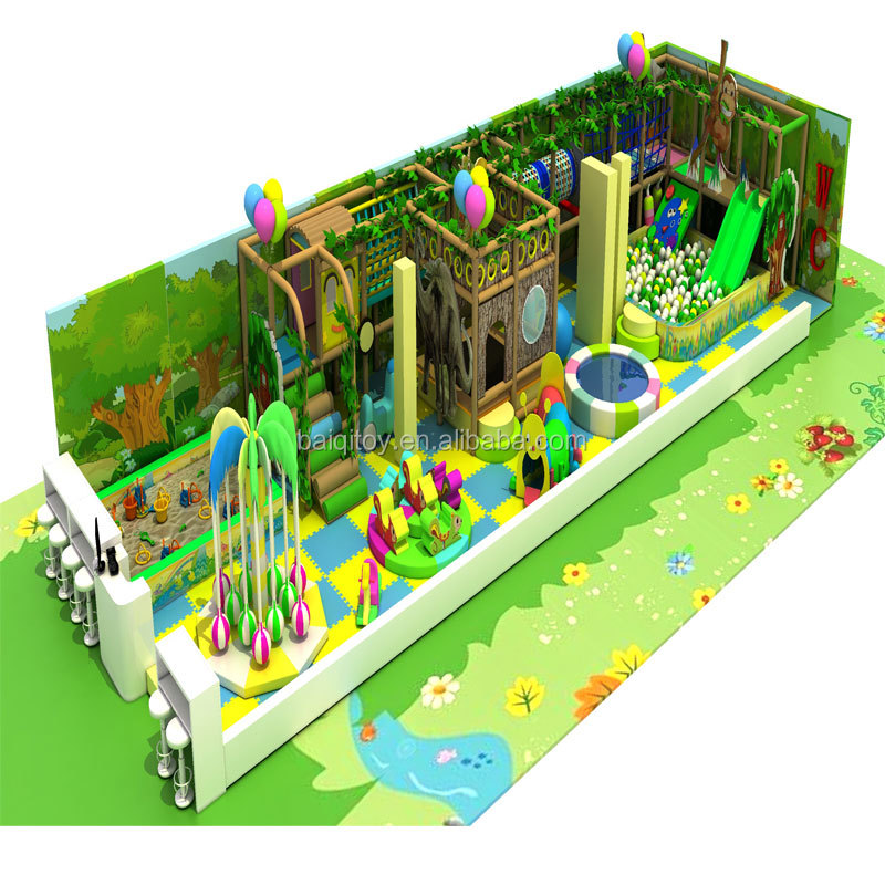 2017 Dreamland large size customized indoor playground equipment