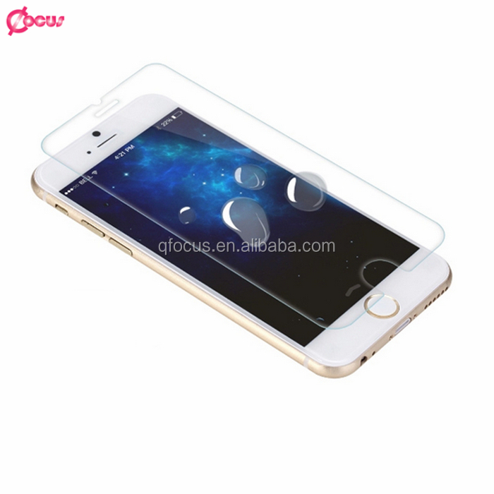 9H 0.26mm Tempered Glass Screen Protector For Iphone 6s plus Rounded Edge tempered screen protector for iphone6s plus