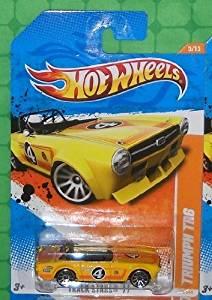 2011 Hot Wheels (70/244) - Track Stars '11 (5/15) - Triumph TR6 (Yellow)