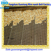 Flat chain stainless steel wire mesh bakery conveyor belts