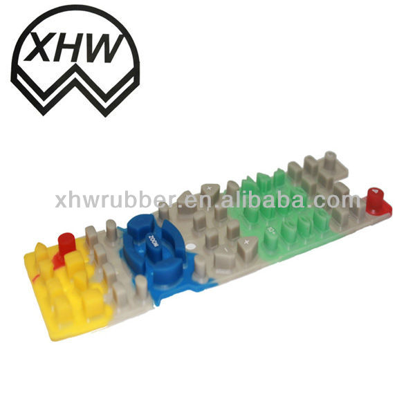 different size of rubber keypad/vandal proof metal keypad/silicon rubber keypad