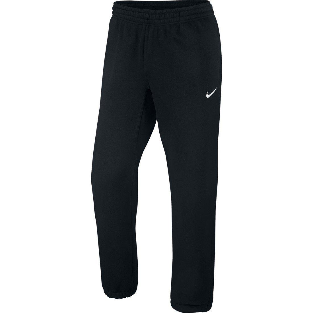 6943cedbac65 Get Quotations · Nike Mens Club Swoosh Cuffed Pants Small Black White