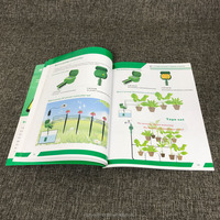 Customized thick paper book printing for sprinkler irrigation equipment used brochure