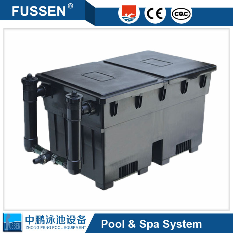 Big capacity fish pond filters and Big Surface Purification Pond Bio Filter