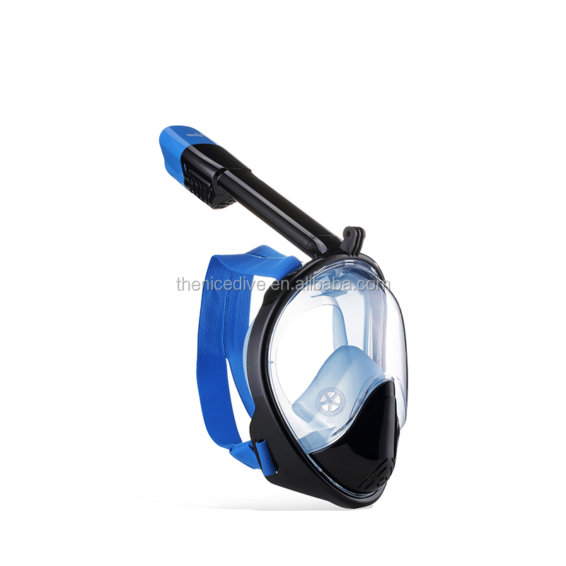 China professional scuba diving silicone full face snorkeling mask for adult