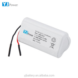 3s1p Rechargeable Li-ion Battery 18650 12V 1200mAH ~ 2000mah for Emergency LED Strip