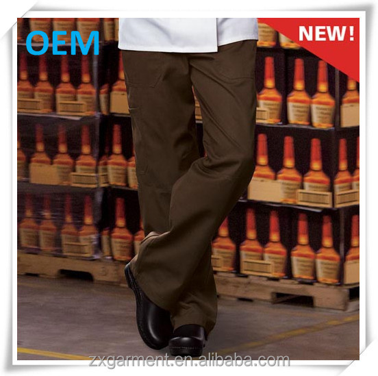 ZX Mens casual punk pants trousers chef pants with cargo