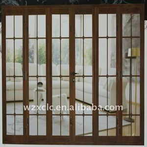 aluminium interior folding door