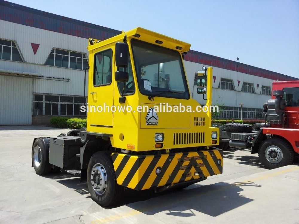 SINOTRUK HOVA 4x2 Terminal Tractor Used In Dock And Port
