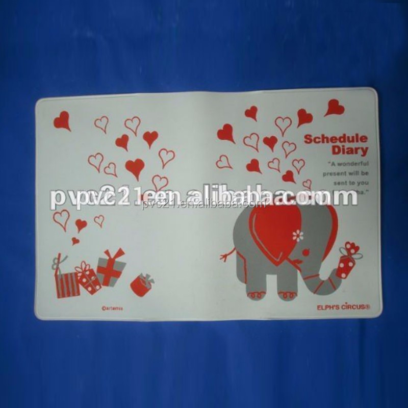 china supplier Plastic PVC Book Cover for school
