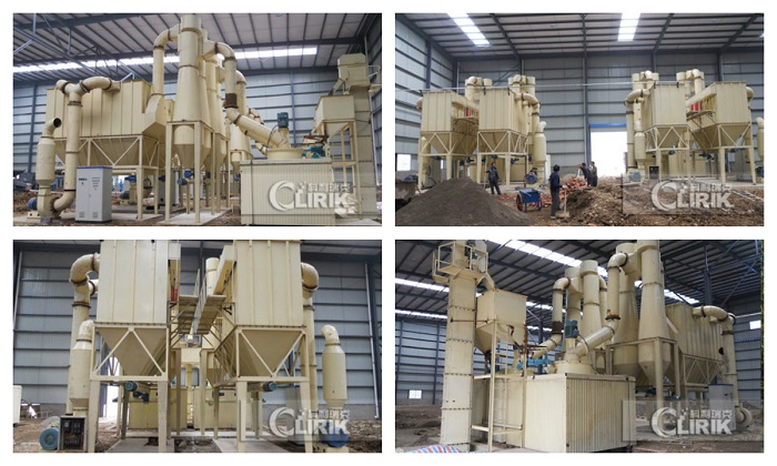 CLIRIK 30-3000 mesh Calcium Carbonate Grinding Mill with CE Certificate