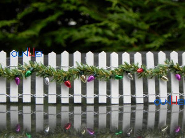 "2 6/"" Pieces Black Fencing 1:12 Dollhouse Miniature Fence"