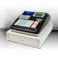 Supermarket electronic cash register with software and printer