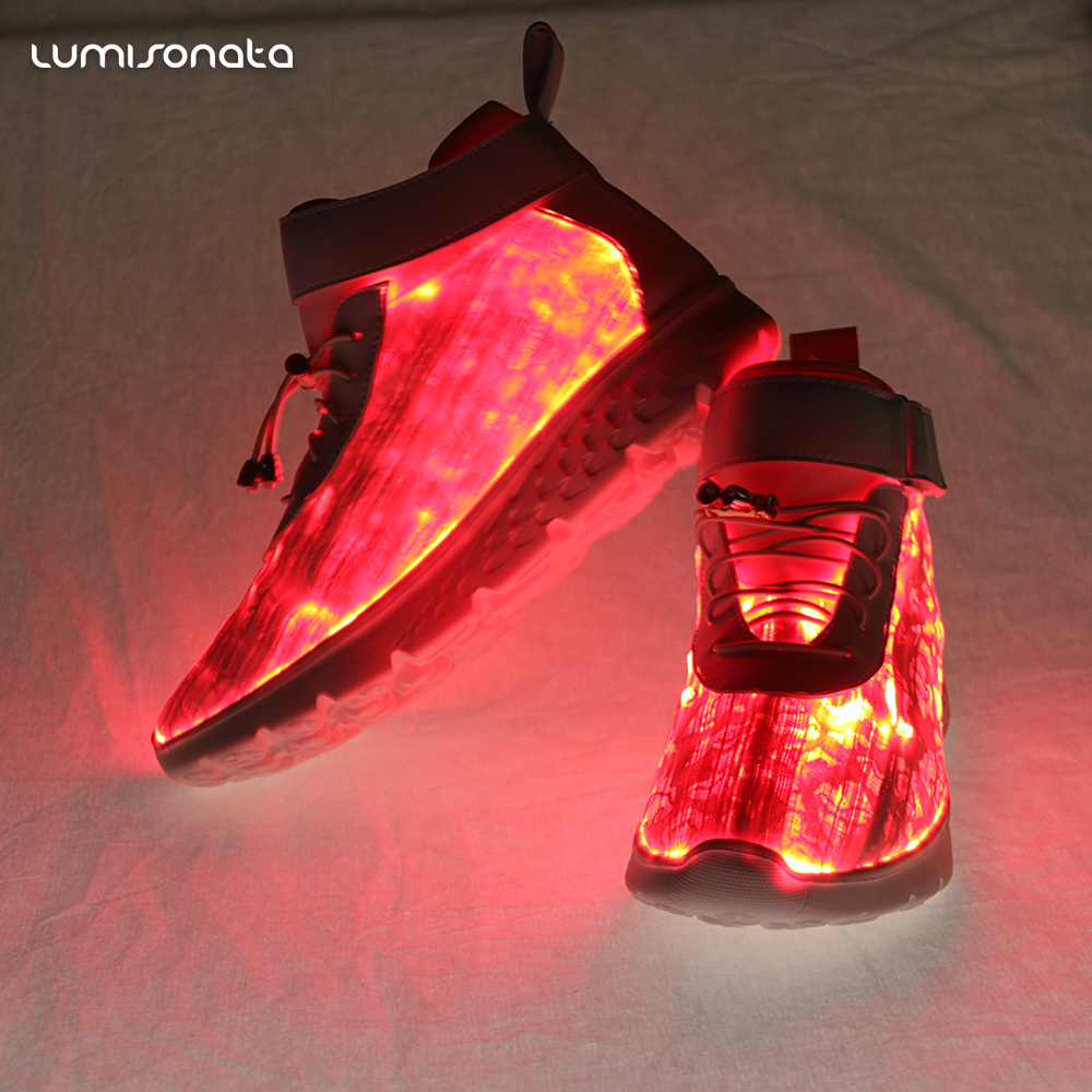 light Colors up 7 Flashing Charging led USB shoes XpnXPqAx4w