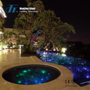 Pmma Side Glow End Fiber Optic Swimming Pool Lighting