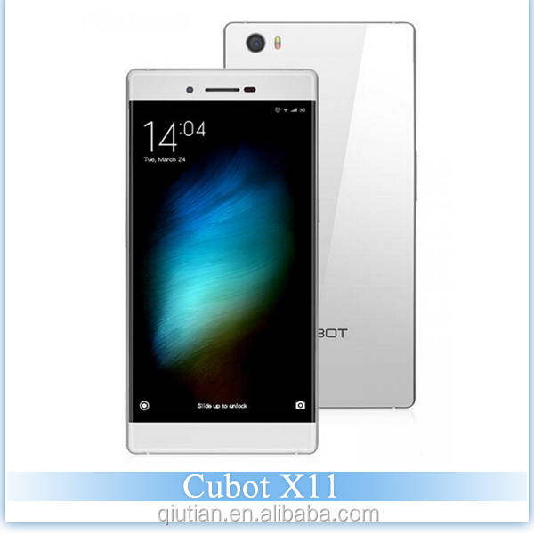 Original Waterproof Cubot X11 Mobile Phone 2G RAM 16G ROM Android4.4 MTK6592 Octa Core 1.7GHz 13MP celular android