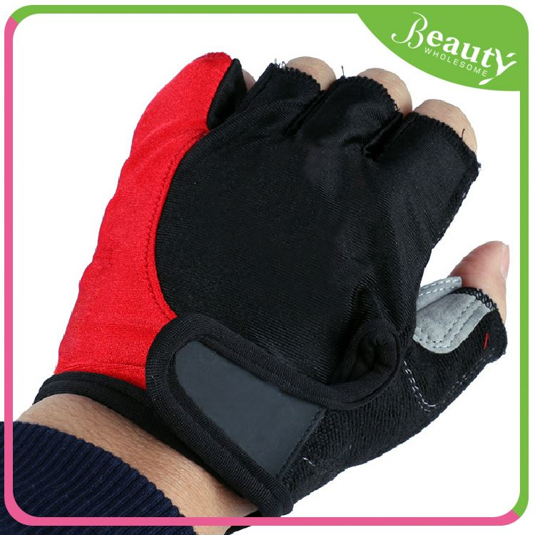 Bicycle half finger gloves ,H0Tdp training gloves with wrist support